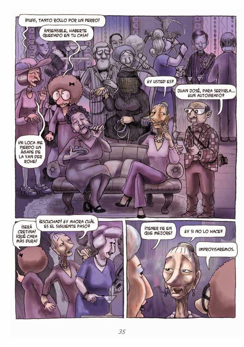 Recuerdos de Perrito de Mierda # 35 by Marta Alonso Berna, Dibbuks, March, 2014