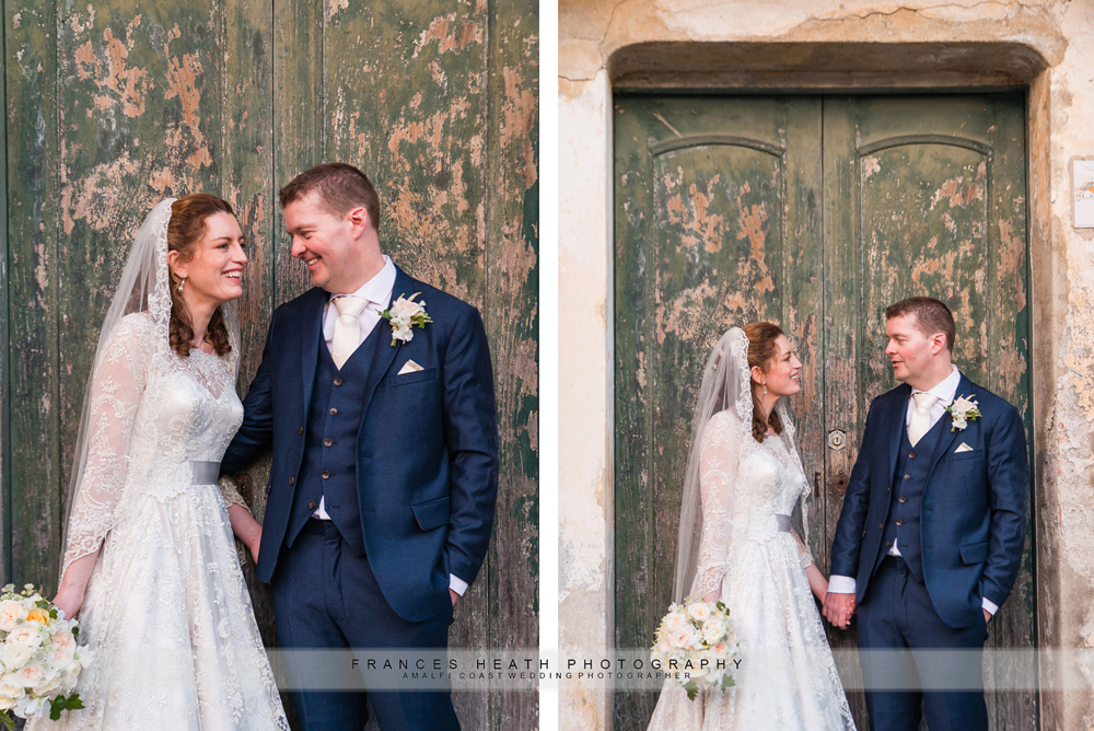 Ravello wedding portraits