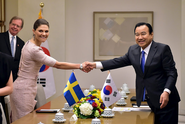Crown Princess Victoria and Prince Daniel visits South Korea