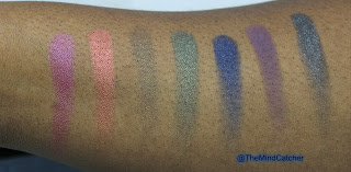 Urban Decay Swatches