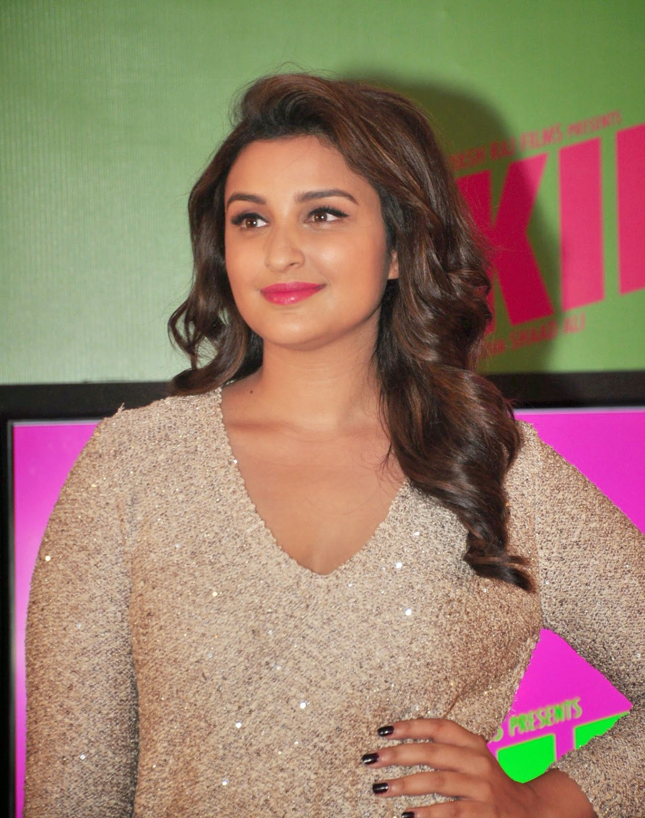 Parineeti Chopra Hot Photos In White Dress