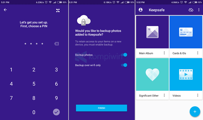 cara hide file folder foto video di android