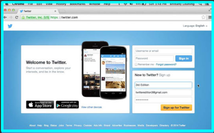 How to Sign Up for Twitter