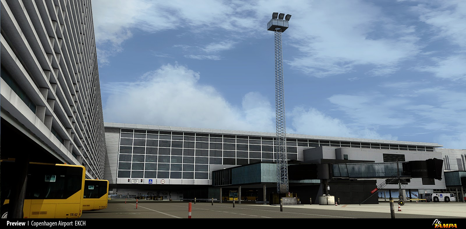 Fsx p3d Flytampa copenhagen V1 1 New Updated And Working