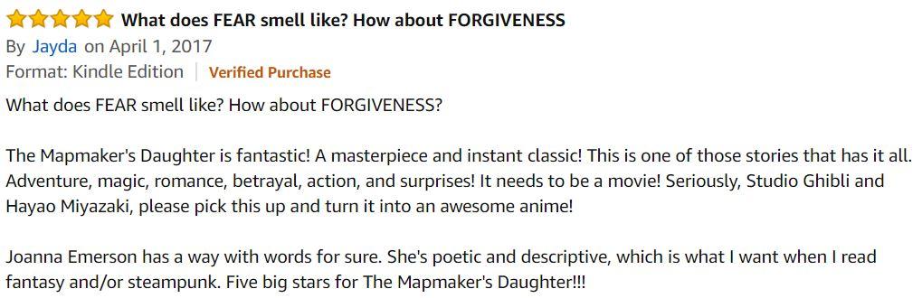 Reviews by Peter: Author/Novel Spotlight: Joanna Emerson