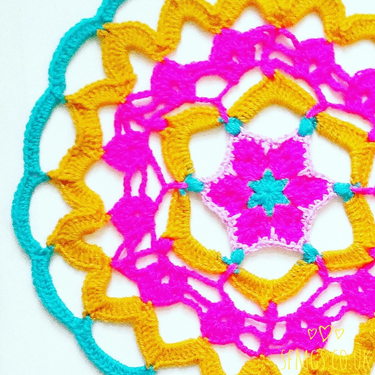 african flower crochet pattern mandala free