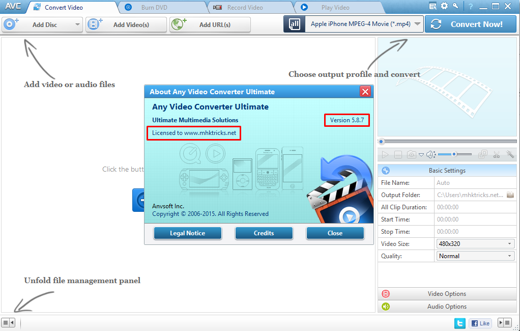 Any Video Converter Free