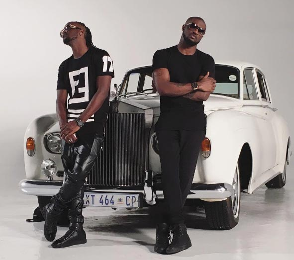 P-square brothers in first picture since major split