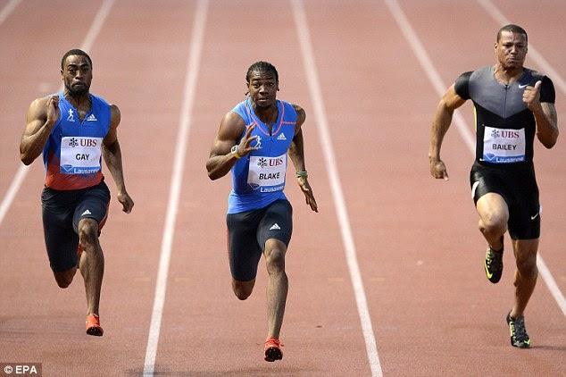 Fun2Run: 9.69 - 3rd fastest all time - Blake joins Gay as ...