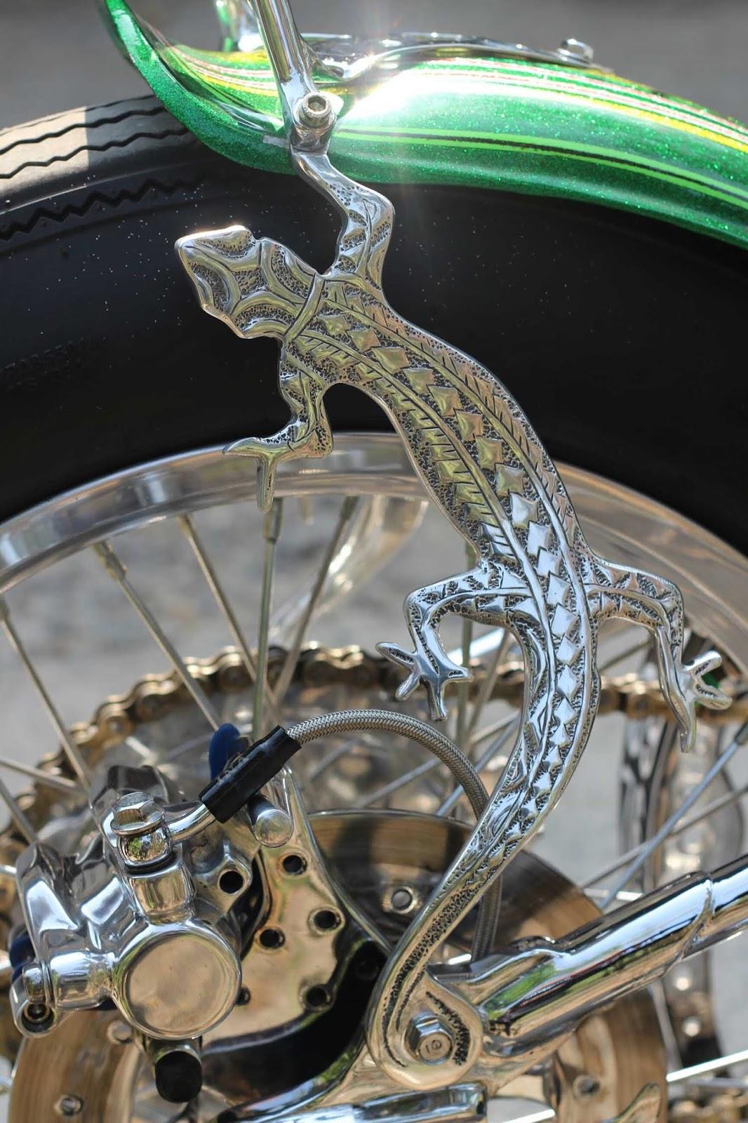 Motor Custom Chopper Blizard Details