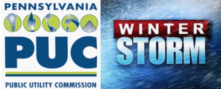 PA Environment Digest Blog: PUC Offers Winter Storm Safety Tips To