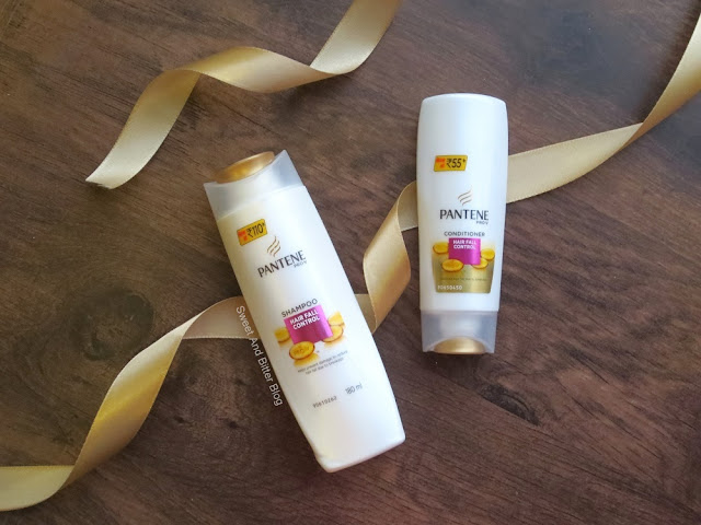 Pantene Pro V Hair Fall Control Shampoo and Conditioner #14DayChallenge