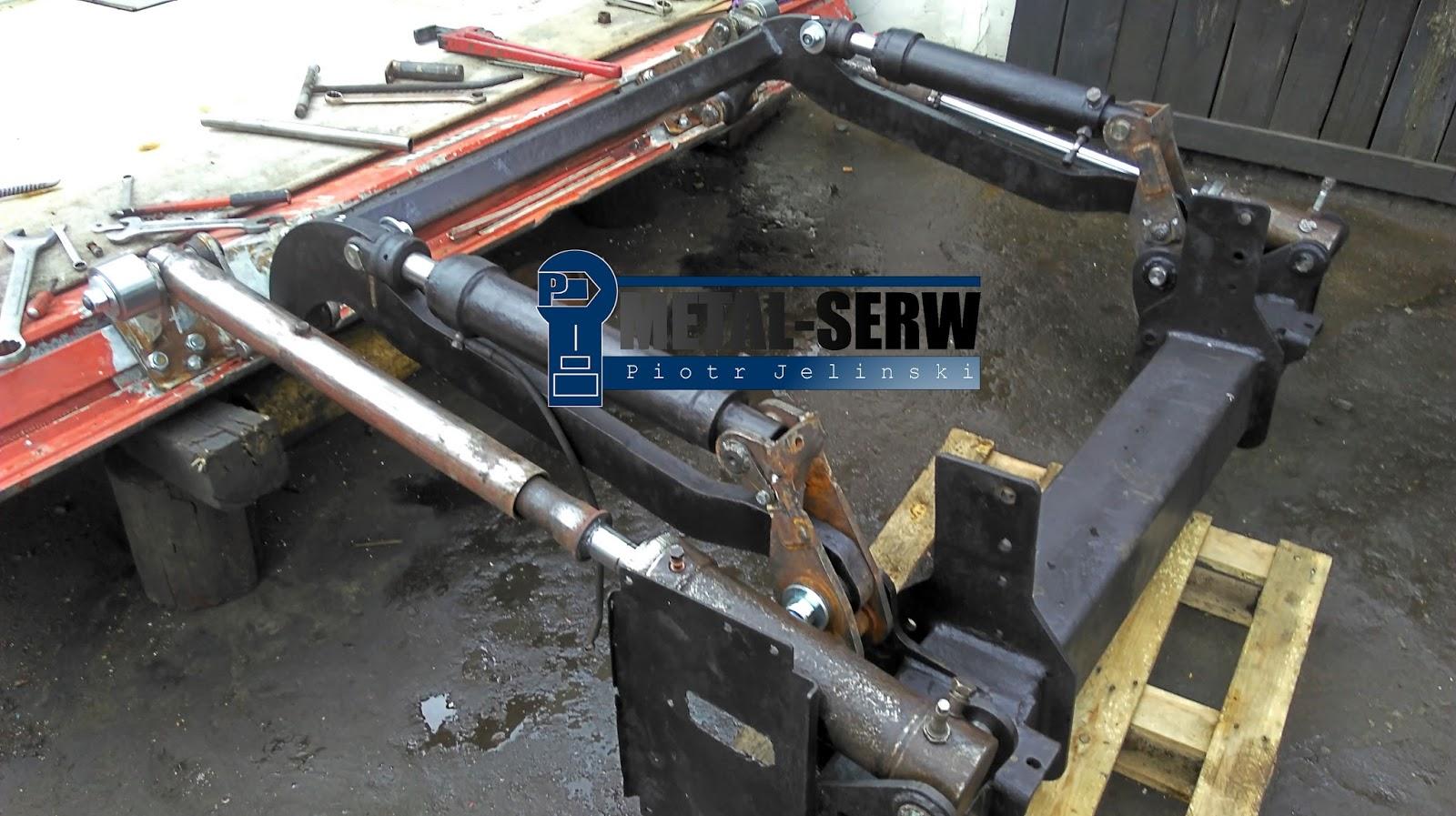 W Mega HYDRAULIKA SIŁOWA - METAL-SERW bloguje: naprawy podestów i wind UV56