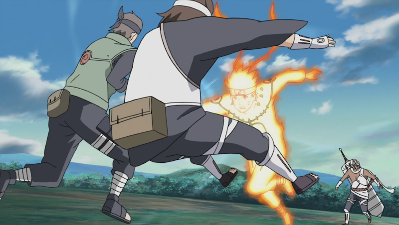 Indra negatif Naruto