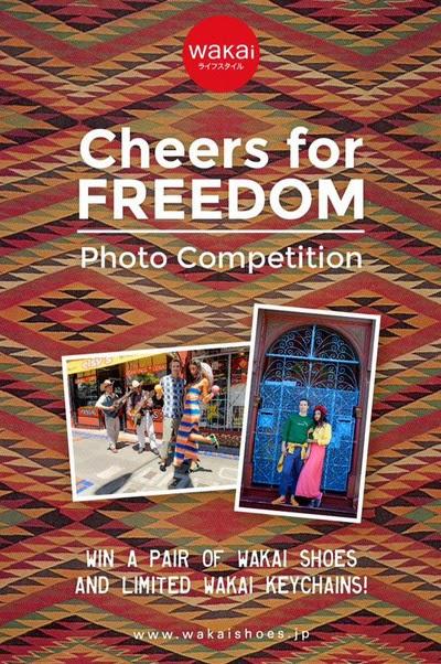 Kontes Foto Cheers For Freedom Berhadiah Sepatu Wakai