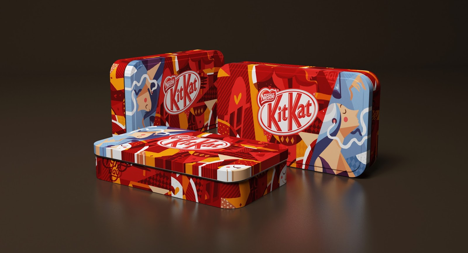 Design Voor Katten : Kit kat nestle break edition on packaging of the world creative