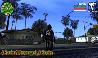 Game Android Gratis GTA San Andreas Lite Compress Mod Alan Walker