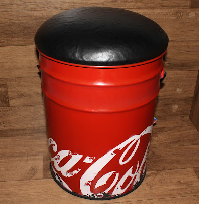 Puff / Banqueta da Coca-Cola
