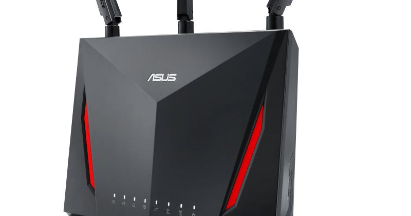 My Asus RT-AC86U AC2900 wireless dual-band MU-MIMO gigabit router