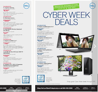 Dell flyer Computers valid July 14 - July 21, 2017