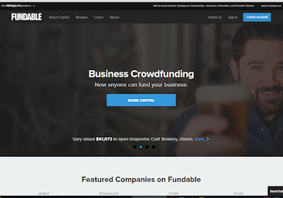 Fundable offers both rewards-based and equity-based campaigns for small businesses