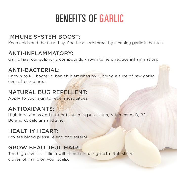 Surprising health benefits of garlic why you should eat raw garlic daily noor lifestyle - Surprising uses for garlic ...