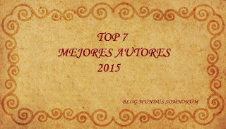 Top 7 Mejores Autores 2015