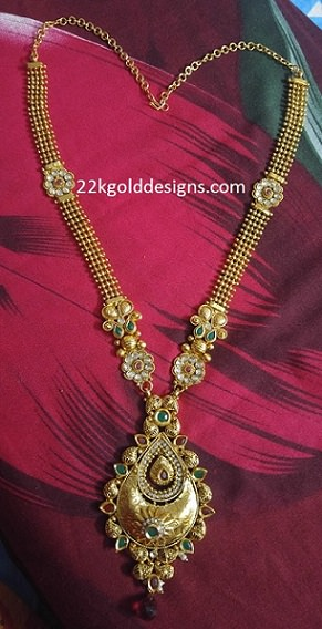 2200Rs One Gram Gold Long Chain