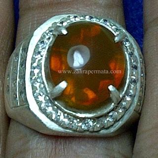 Cincin Batu Fire Opal Wonogiri - ZP 650