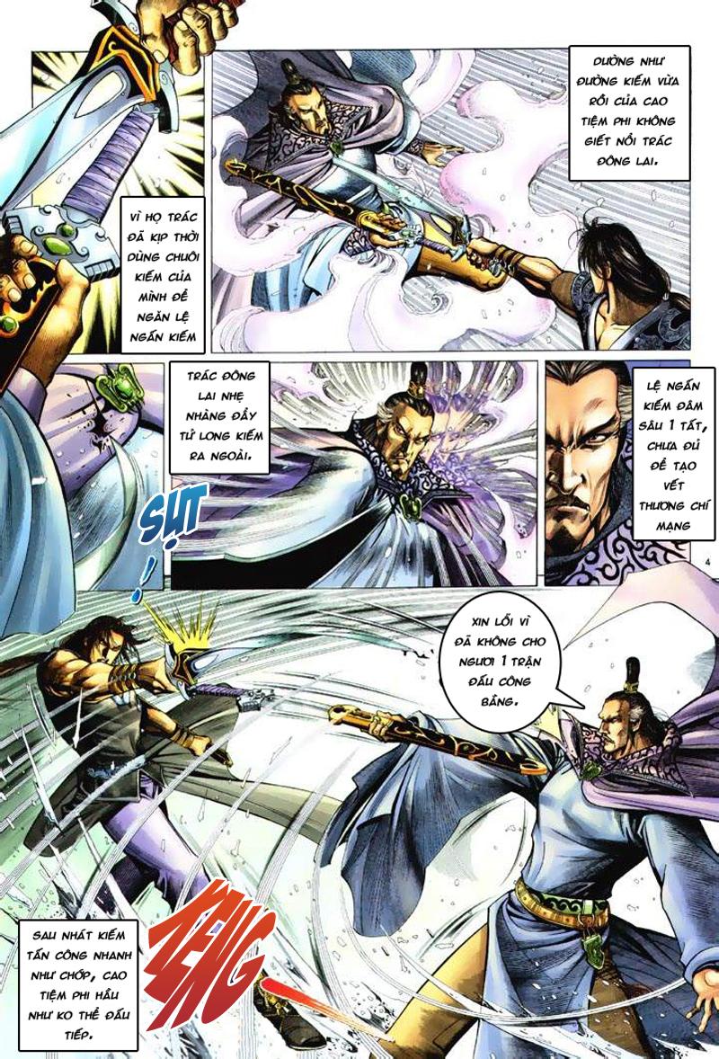 Anh hùng vô lệ Chap 6: Anh hùng hữu lệ trang 4