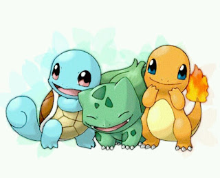 squirtle charmander bulbasaur