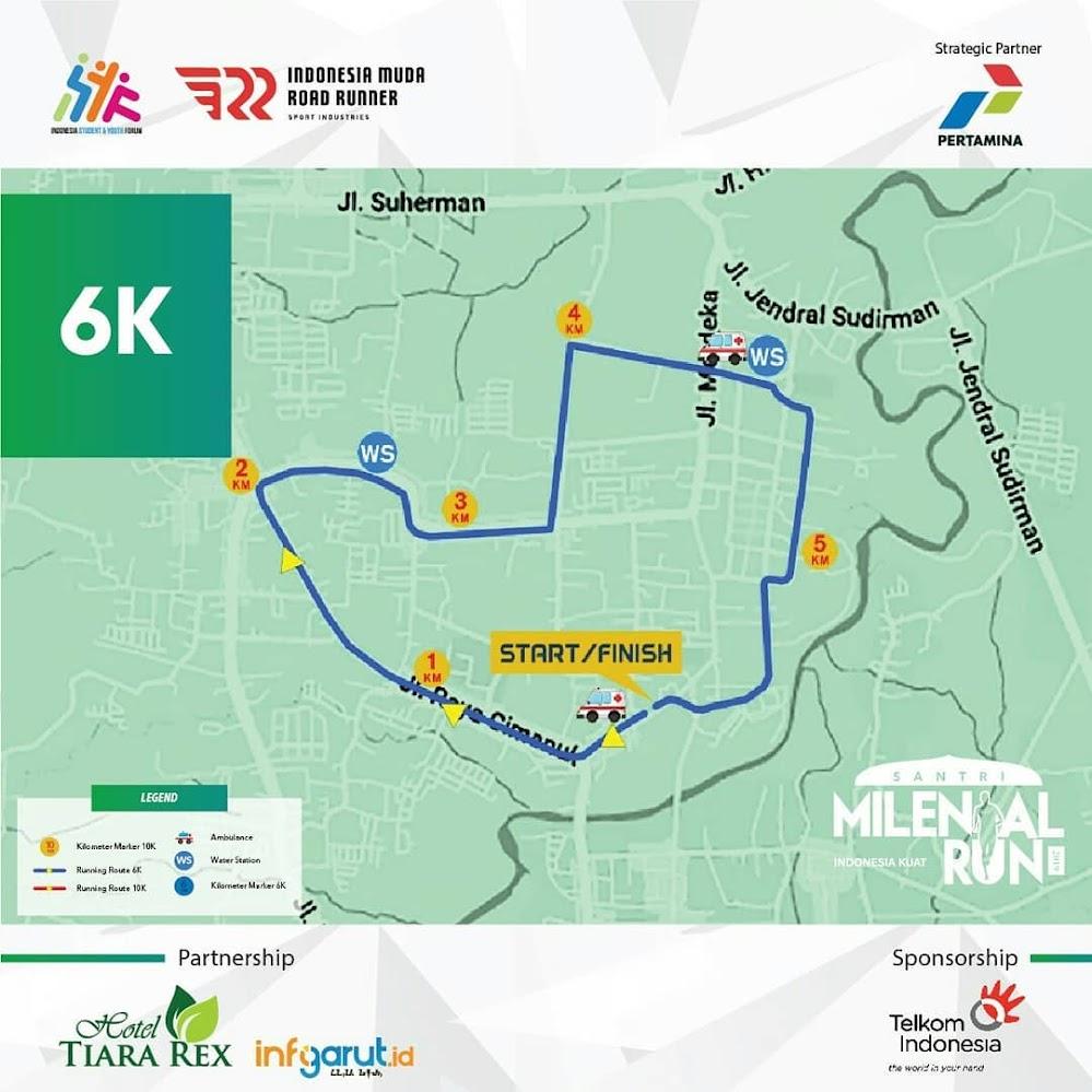 Santri Milenial Run • 2019