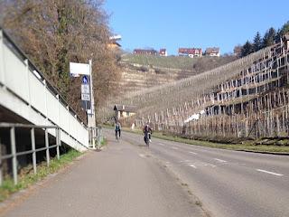 So, so, die Hofener Straße gehört sommers den Radlern?