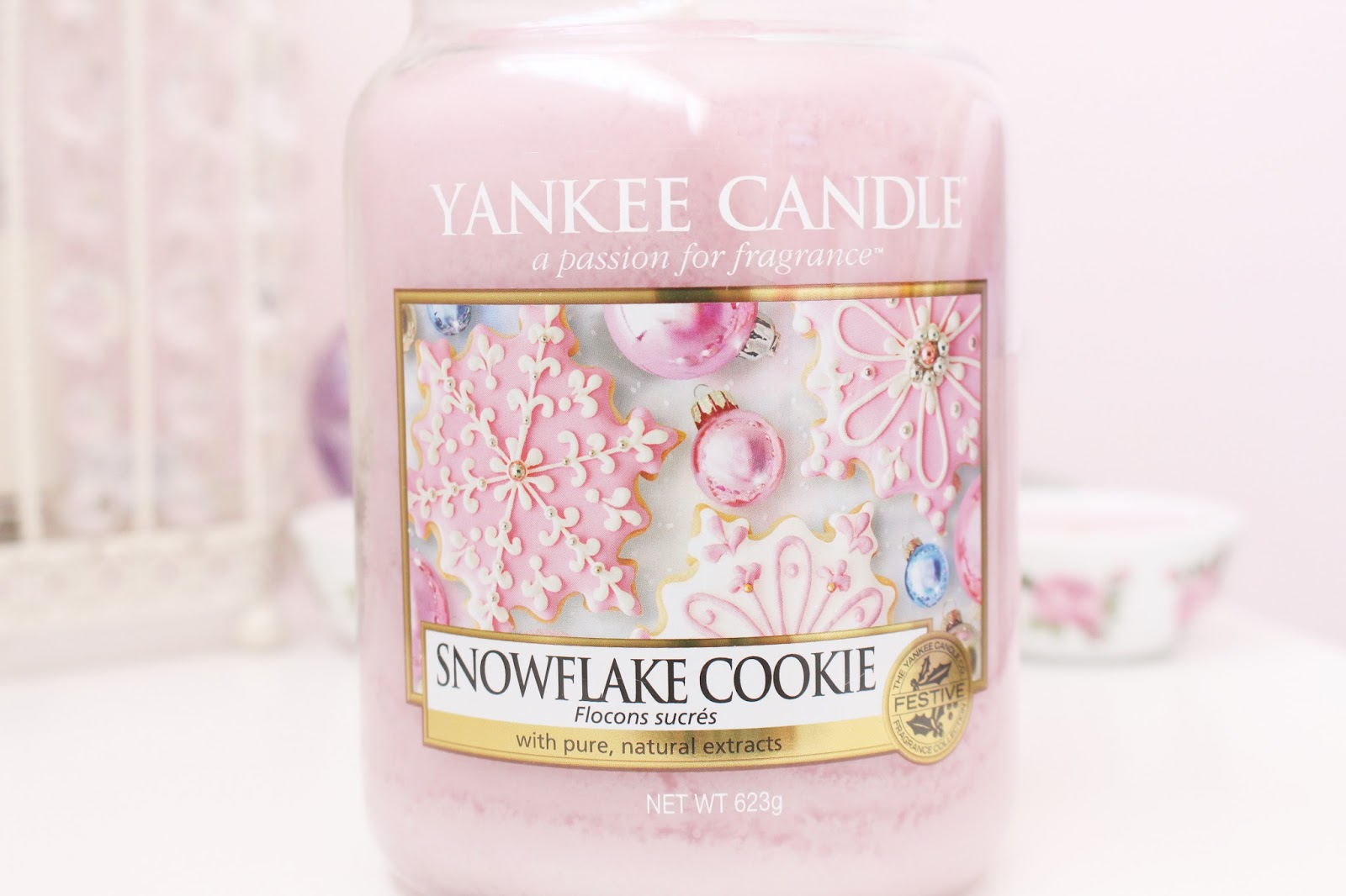 Yankee Candle Snowflake Cookie Large Jar
