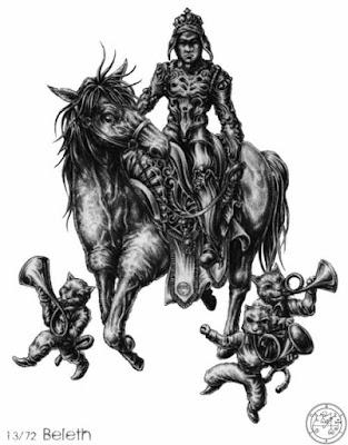 beleth, goetia, daemon, ocultismo