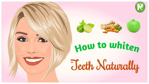 Natural way to Whiten your Teeth at home