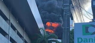 Incêndio atinge maior shopping de Natal; veja vídeo