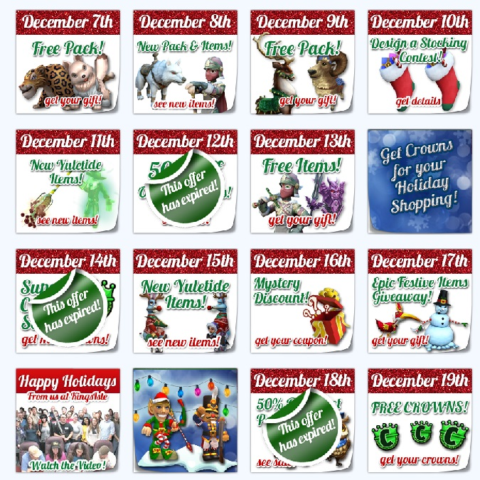 Paige's Page: 12 Days of the Spiral-Wizard101 and Pirate101