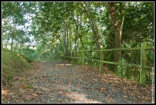 Paseo de los Enamorados Cervo Galicia