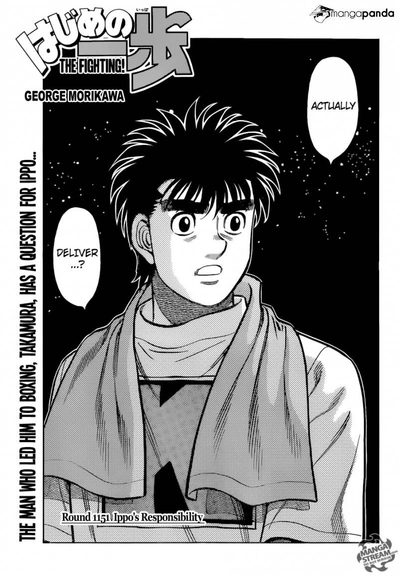 Hajime no Ippo - Chapter 1151