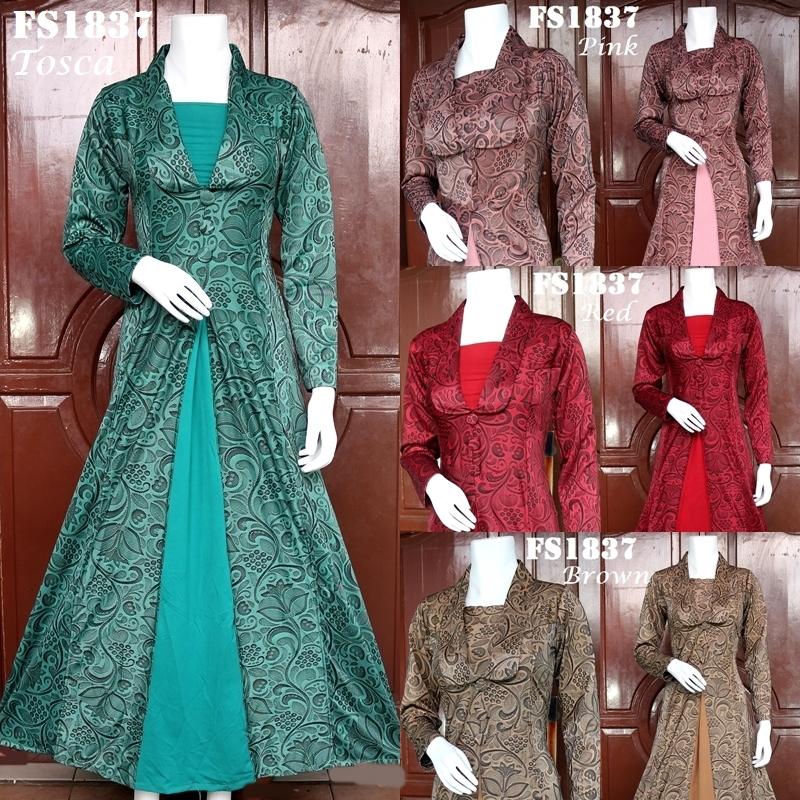 Baju Muslim Pesta Fs1837bp01 Indofazion