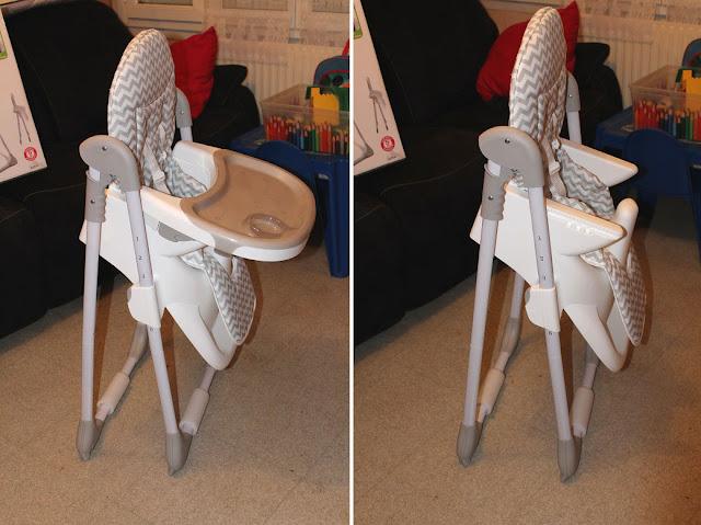 chaise haute legère