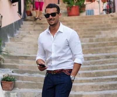 Camisa Entallada Blanca - Slim Fit