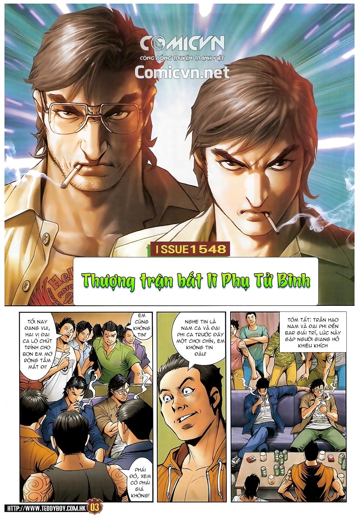 Người Trong Giang Hồ - Chapter 1548: Cha con ra trận - Pic 2