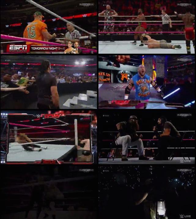 WWE Monday Night Raw 19th Oct 2015 HDTV 480p