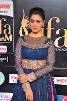 Raai Laxmi in Beautiful Backless Designer Anarkali Gown at IIFA Utsavam Awards 2017  Day 2  Exclusive 16.JPG