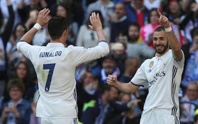 Menang Telak Madrid Kokoh Diperingkat Pertama