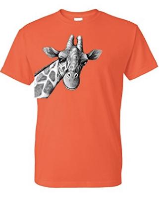 cutest giraffe tee