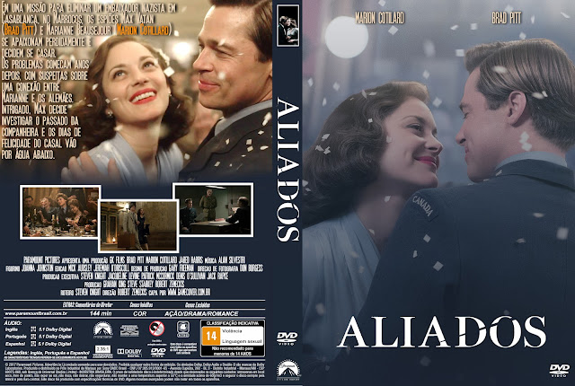 Capa DVD Aliados 2017 [Exclusiva]