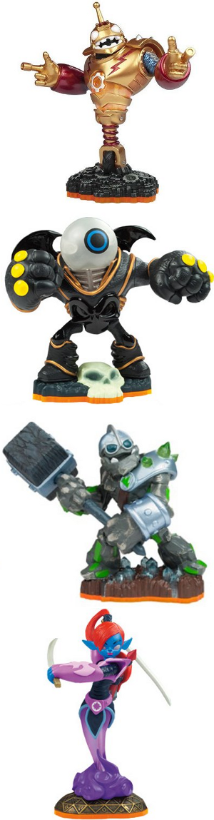 Skylanders Giants Figures